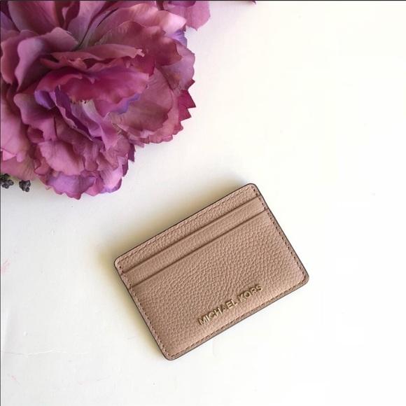 Michael Kors Handbags - SOLD Micheal Kors Credit Card Case Wallet